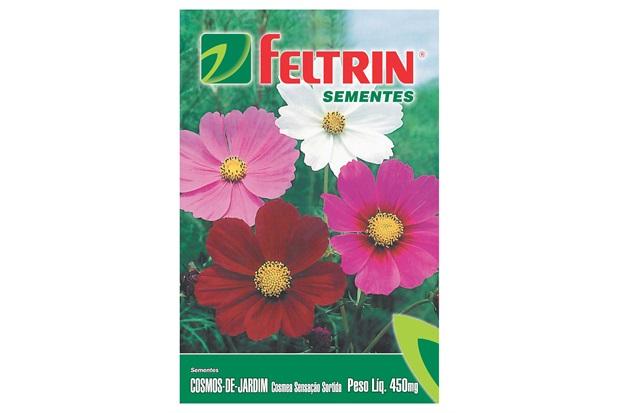 Semente de Flor Cosmos de Jardim 450mg - Feltrin