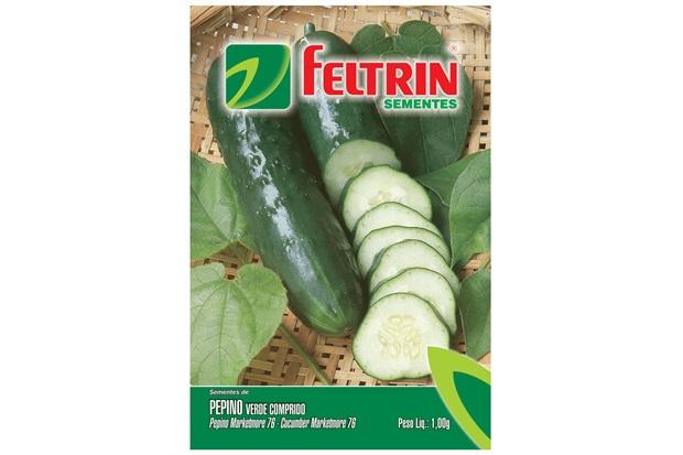 Semente de Pepino Verde Comprido 1g - Feltrin