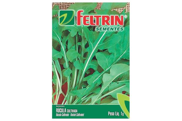 Semente de Rúcula Cultivada 1g - Feltrin