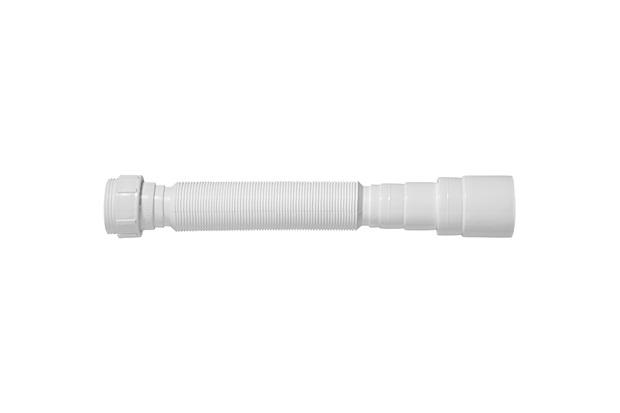 Sifão Tubo Extensivo Universal com Porca em Polipropileno Branco - Blukit