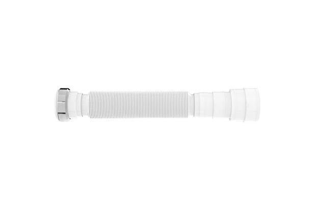 Sifão Tubo Extensivo Universal com Porca Metálica Branco - Blukit