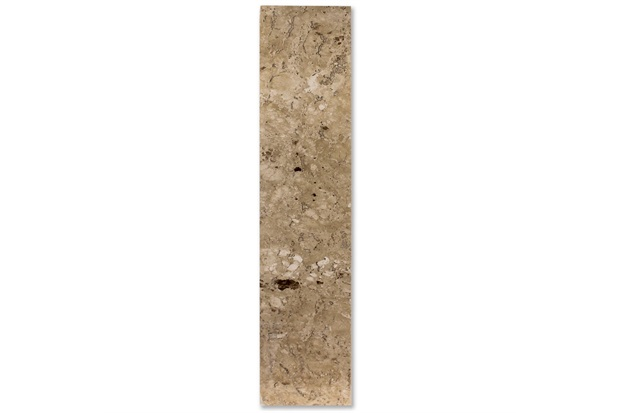 Soleira de Mármore Travertino 82x14cm Bege - Villas Deccor