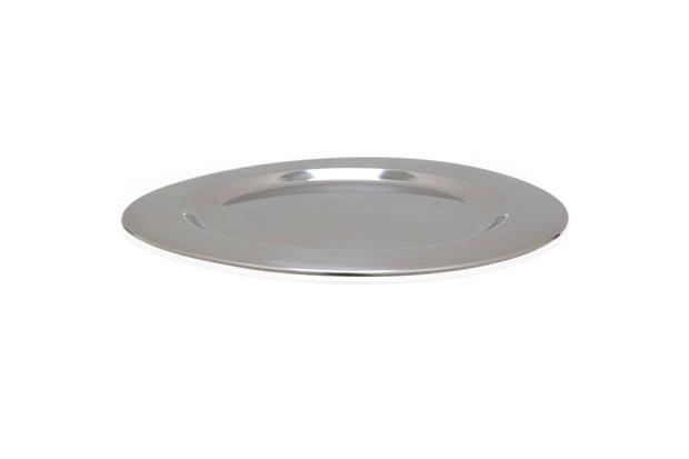 Sousplat em Aço Inox Mirror Cheff 33cm - Casa Etna