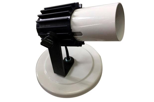 Spot com Aleta para 1 Lâmpada Branco - Franzmar