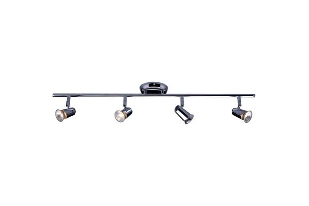 Spot de Arco para 4 Lâmpadas New Short Gu10 Cromado - Bronzearte
