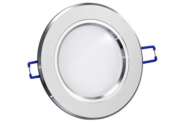 Spot de Embutir Led Fixo Redondo 11,5cm 6w Branco Frio Bivolt 9163 - Gaya
