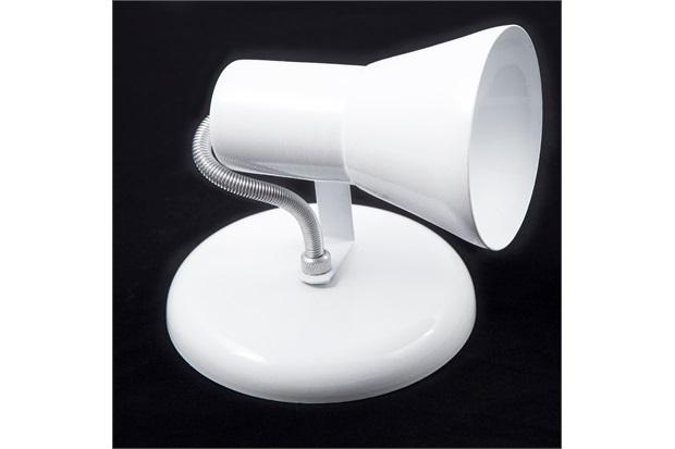 Spot de Sobrepor em Alumínio para 1 Lâmpada Sino Branco - JM Iluminação