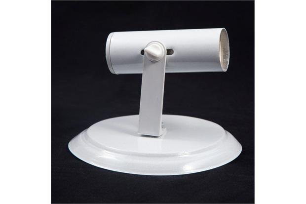 Spot de Sobrepor em Alumínio para 1 Lâmpada Tubo Branco - JM Iluminação