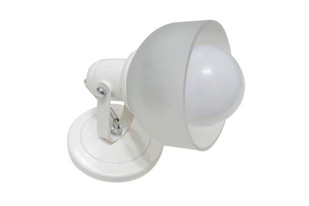 Spot de Sobrepor para 1 Lâmpada com Vidro Branco - Franzin