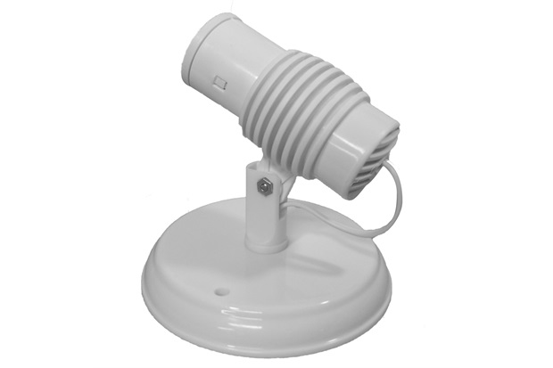 Spot de Sobrepor para 1 Lâmpada Poplux Branco - Utron