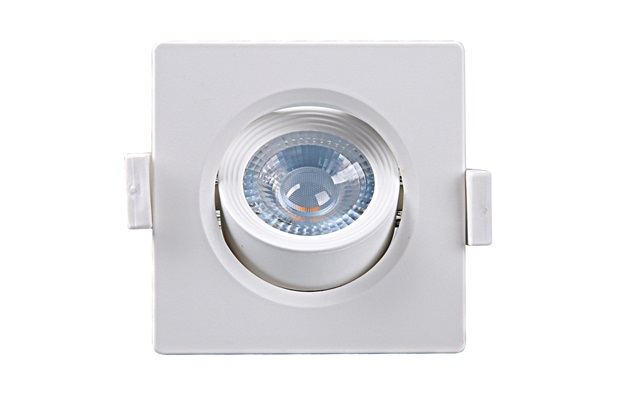 Spot Led Quadrado Alltop Mr11 3w 6500k - Taschibra