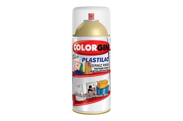 Spray Verniz Plastilac Brilhante - Colorgin