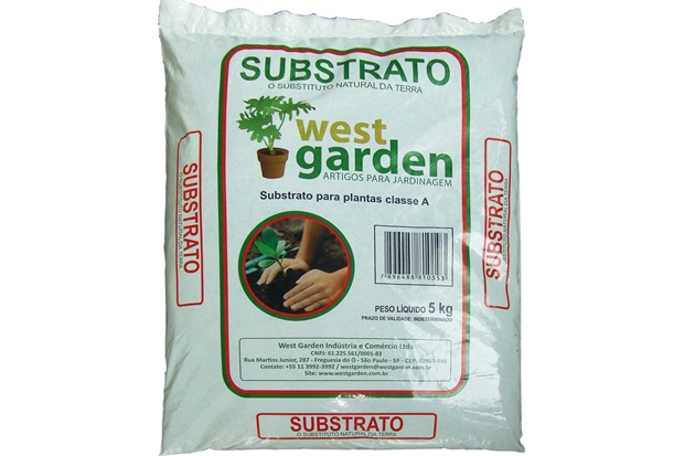 Substrato Natural Saco com 5kg - West Garden