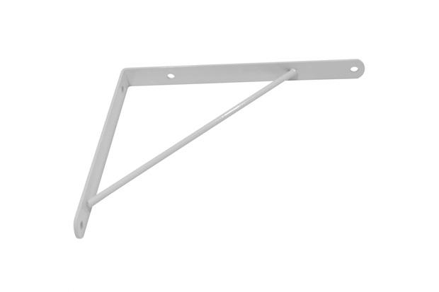 Suporte Branco 20x50cm 1 Peça - Zamar