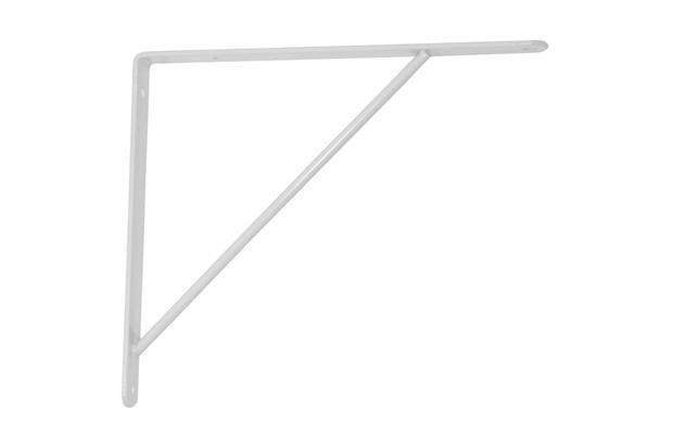 Suporte Branco 30cm 1 Peça - Zamar