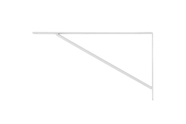 Suporte Branco 40cm 1 Peça - Zamar