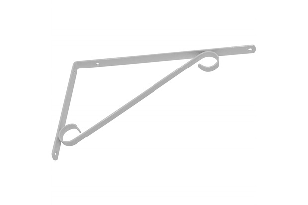 Suporte Colonial para Vidro 20cm Branco - Utilfer