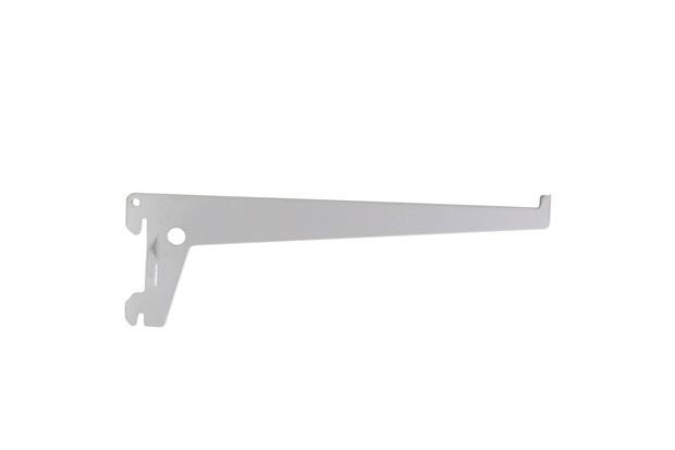Suporte de Aço Versátil Branco 20cm  - Fico Ferragens