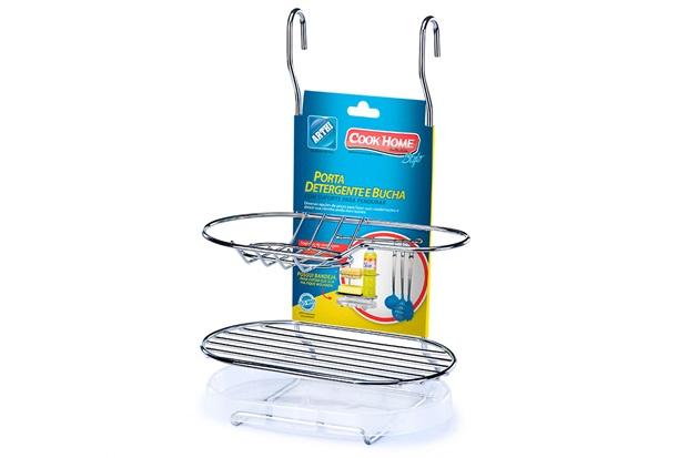 Suporte para Detergente, Sabão E Bucha  - Arthi