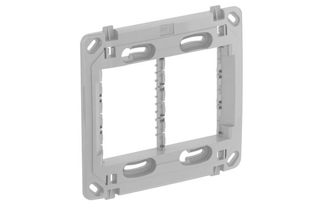 Suporte para Placa 4x4 Compose Cinza - WEG