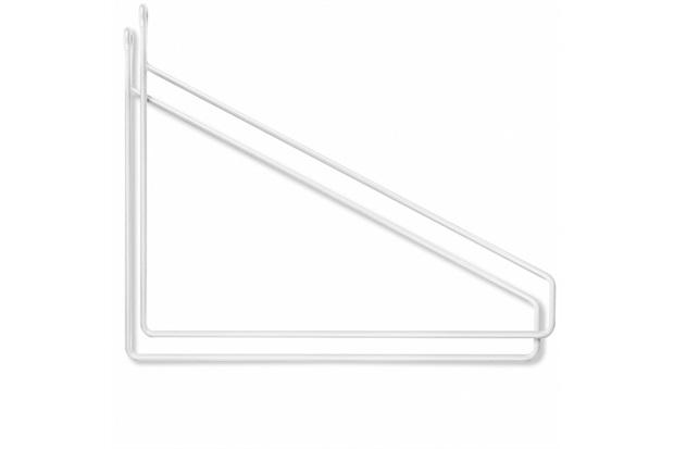 Suporte para Prateleira em Aço Fit 20x25cm Branco com 2 Peças - Fico Ferragens