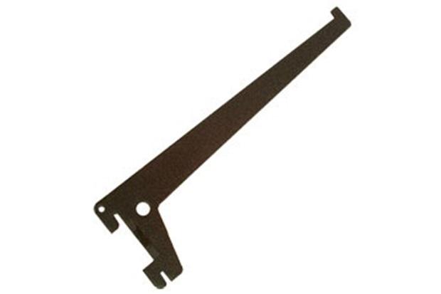Suporte para Trilho em Aço Versátil 25cm Preto - Ordenare