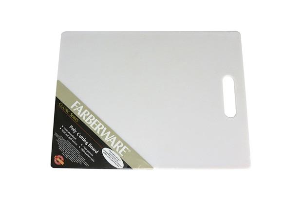 Tábua de Corte em Polipropileno Branco 28 X 35 Cm - GS