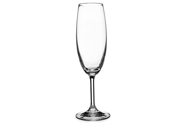 Taça em Cristal para Champanhe Bohemia Anna 220ml - Casa Etna