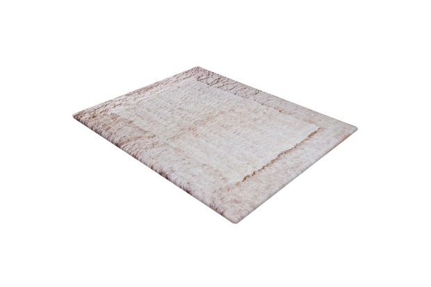 Tapete de Banho em Poliéster Levitare Tranquilidade 70x50cm Branco - Casa Etna