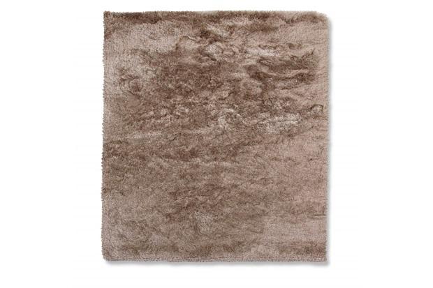 Tapete em Poliéster New Agra 200x150cm Bege - Casa Etna