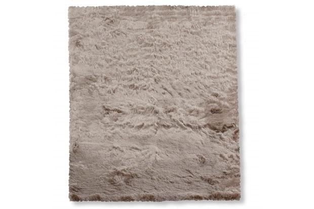 Tapete em Poliéster New Agra 250x200cm Bege - Casa Etna