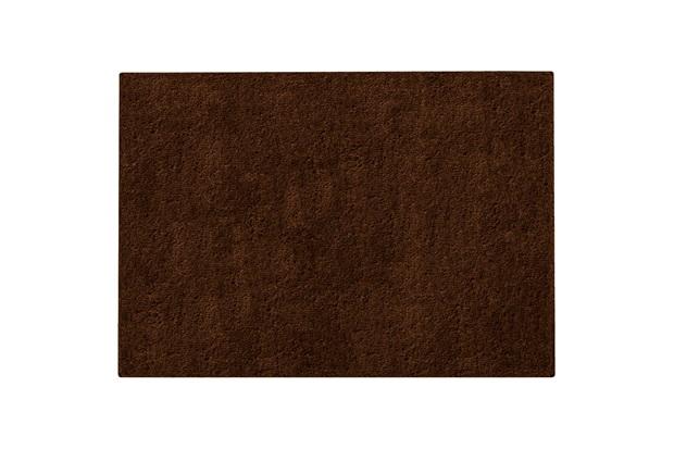 Tapete em Poliéster Vip 140x200cm Chocolate - Jolitex