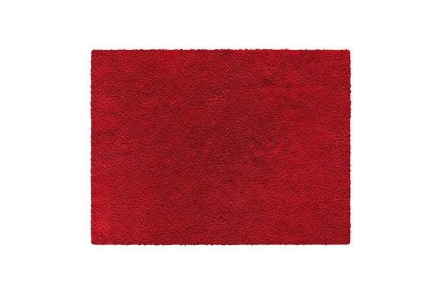 Tapete em Polipropileno Realce 100x150cm Vermelho - Jolitex