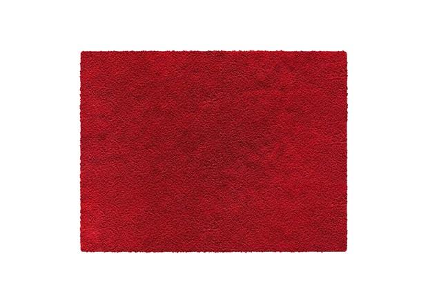 Tapete em Polipropileno Realce 150x200cm Vermelho - Jolitex