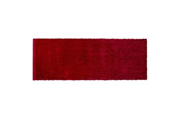 Tapete em Polipropileno Realce 66x180cm Vermelho - Jolitex