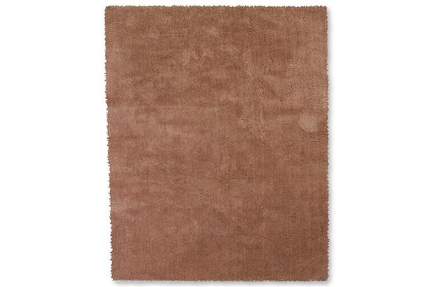Tapete May Poliéster 200x150cm Khaki - Casa Etna