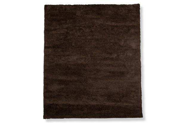 Tapete May Poliéster 200x150cm Marrom - Casa Etna