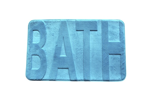 Tapete para Banheiro Bath Azul Turquesa - Casanova