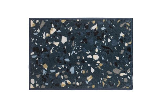 Tapete para Cozinha Terrazzo 50x75cm Azul - Kapazi