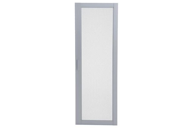 Tela Mosquiteiro para Janela Veneziana de Correr Central Aluminium 120x150cm Branca - Sasazaki