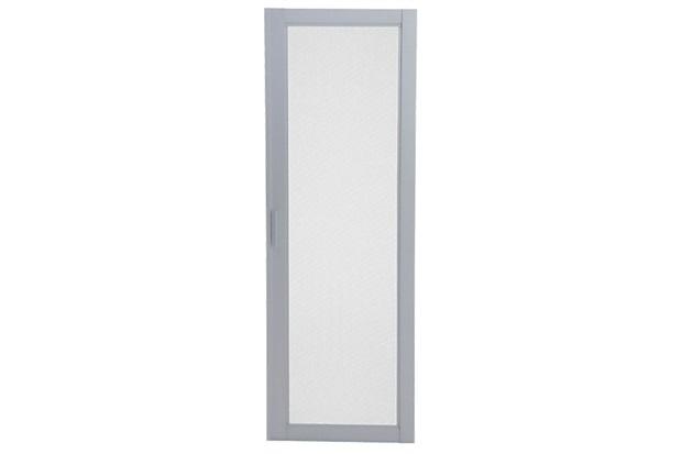 Tela Mosquiteiro para Porta Balcão de Correr Esquerda Aluminium Multiflex 216x160cm Branca - Sasazaki