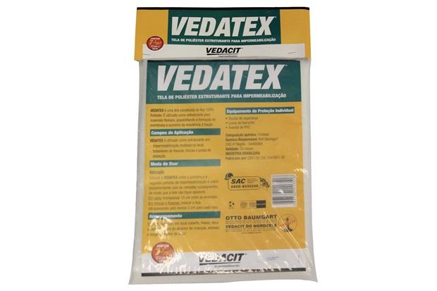 Tela para Impermeabilização Vedatex 73cm com 10 Metros Branca - Vedacit