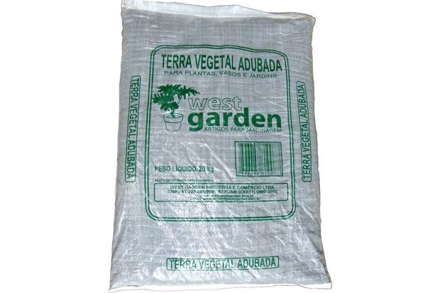 Terra Vegetal Saco com 20kg - West Garden