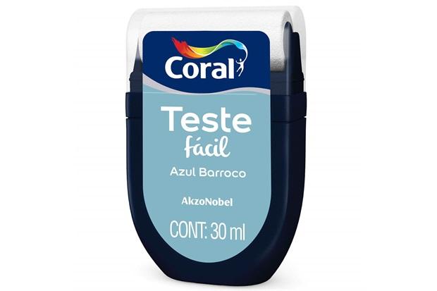 Teste Fácil Azul Barroco 30ml - Coral