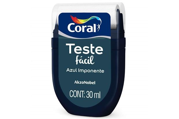 Teste Fácil Azul Imponente 30ml - Coral