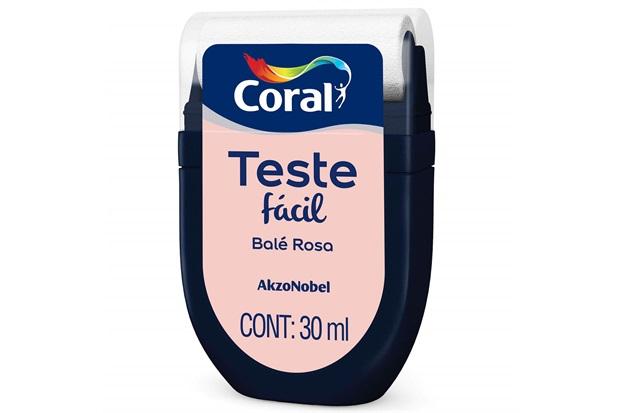 Teste Fácil Balé Rosa 30ml - Coral
