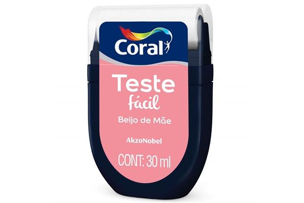 Teste Fácil Beijo de Mãe 30ml - Coral