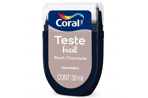 Teste Fácil Blush Chocolate 30ml - Coral