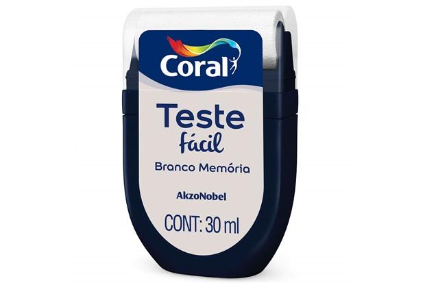 Teste Fácil Branco Memória 30ml - Coral