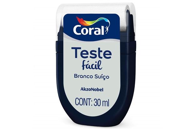 Teste Fácil Branco Suíço 30ml - Coral